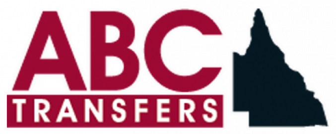 ABC Transfers Logo White Outline